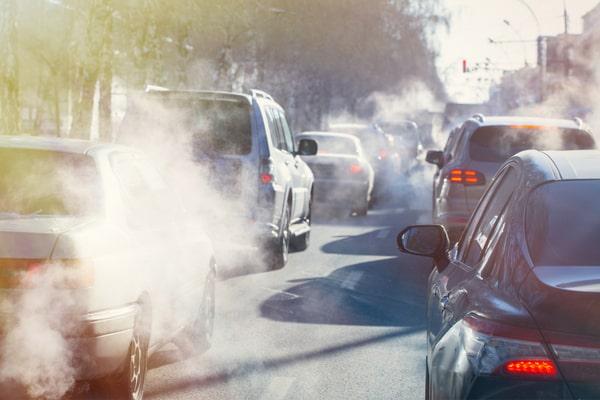 Impact pollution routière agriculture